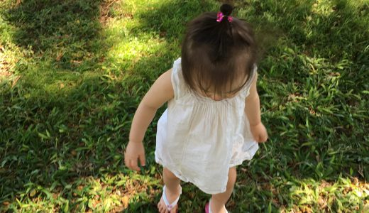 Baby Deer Clipsのヘアクリップ。女の子赤ちゃんにおすすめ。