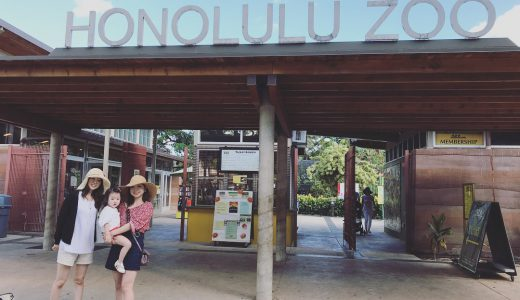 """【子連れハワイ】子連れハワイにおすすめ!ハワイ動物園 """"HONOLULU ZOO"""""""