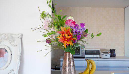 フラワーレッスン「春のお花たち」